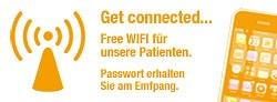 Fre Wifi – Freies WLAN für unsere Patienten in der Praxis.