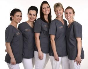 Das freundliche Prophylaxe-Team unserer Zahnarztpraxis in Essen